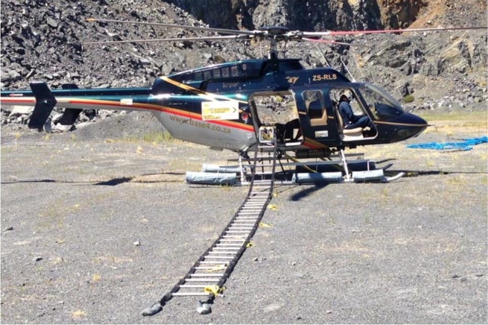 Helicopter Rope Ladders